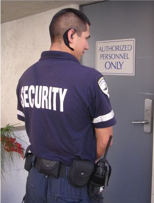armed and unarmed security guard job applications