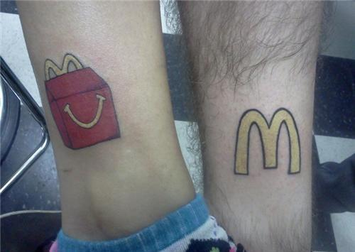 mcdonald ankle and calves tattoo