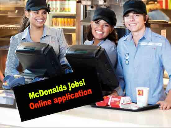 Free McDonalds Application Online