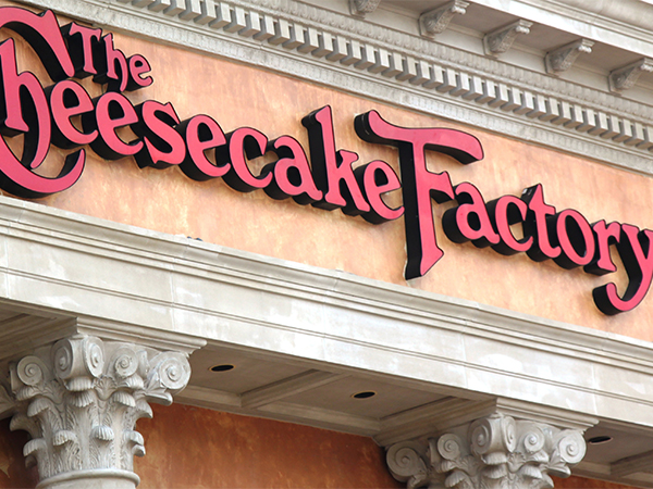 Free Cheesecake Factory Application Online