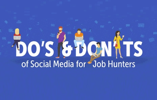 social media don'ts for job seekers