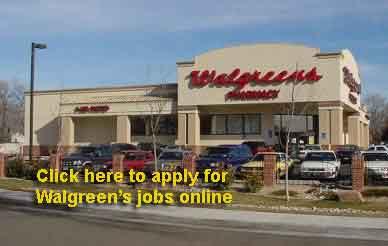 walgreens online application for jobs